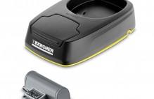 Зарядна станция и акумулаторна батерия за смяна за Karcher WV 5
