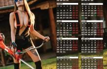 Календар еднолистов GardenMAX 2019 вариант 2