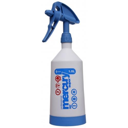 Пулверизатор за препарати Kwazar Mercury CleaningPro+ 360 1L СИН