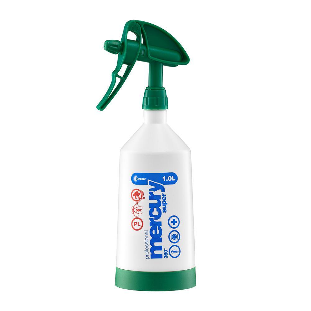 Пулверизатор за препарати Kwazar Mercury CleaningPro+ 360 1L ЗЕЛЕН