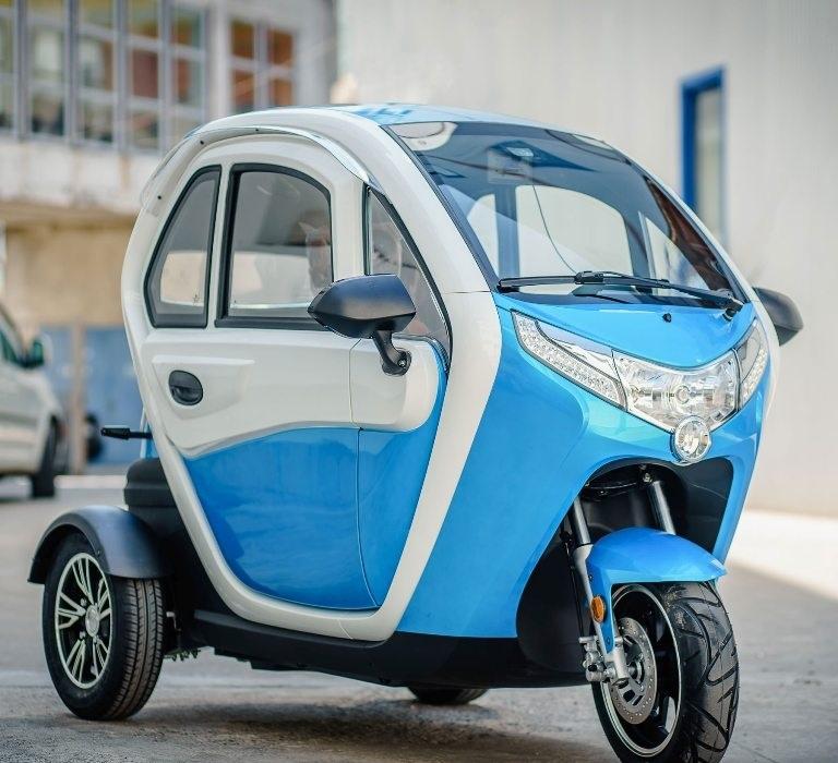 Електрическа триколесна кола Електромобил 60V 45AH