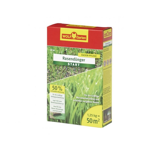 "Тор за трева за новозасадени тревни площи WOLF Garten LH-50 ""Premium""- 1.25 кг"