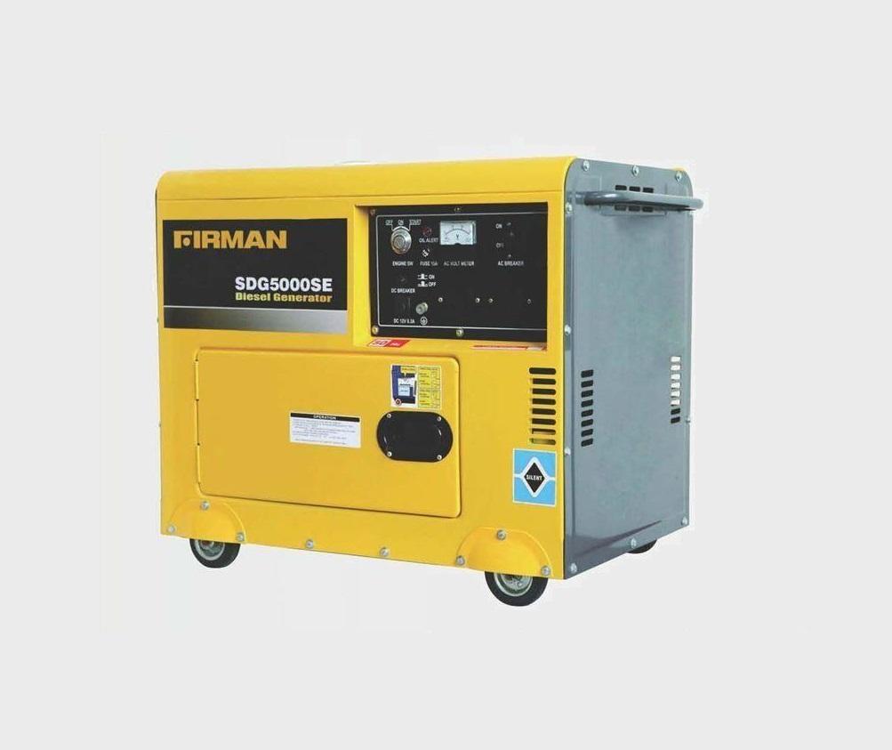 Дизелов генератор Firman SDG 5000SE