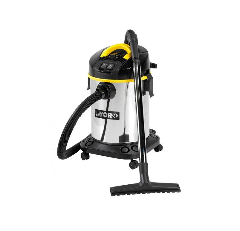 Прахосмукачка Lavor Venti XE сухо&мокро + Eл.контакт, инокс