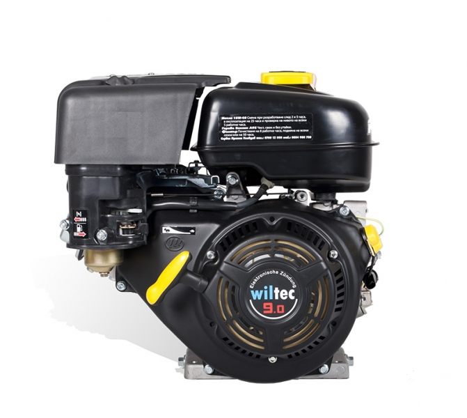 Четиритактов бензинов двигател WILTEC 9,5 HP