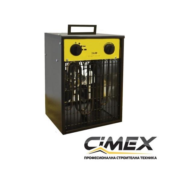 Електрически калорифер 3.3kW, CIMEX EL3.3