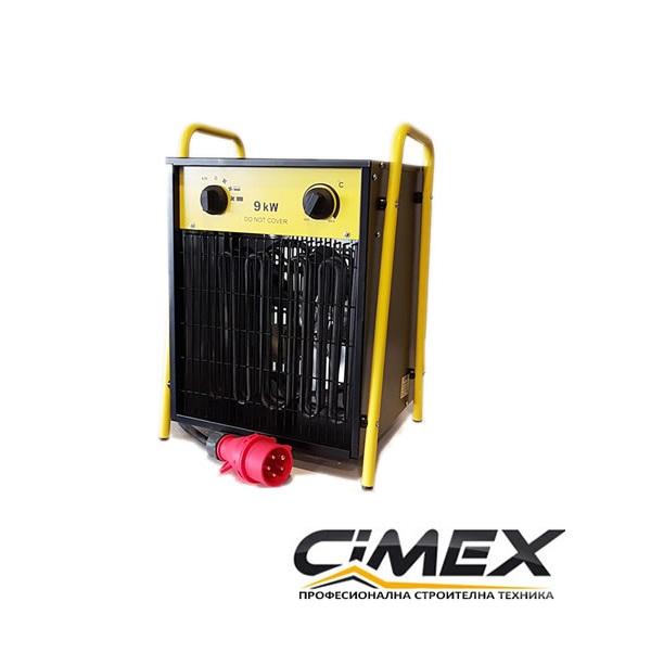 Електрически калорифер 9.0kW, CIMEX EL9.0