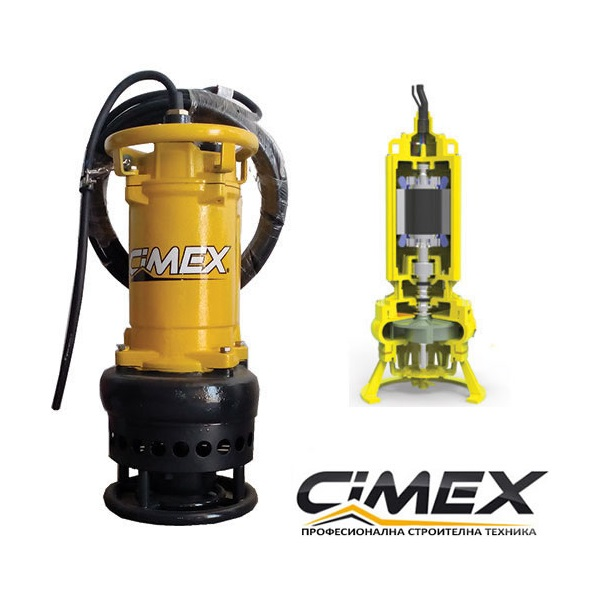 Строителна дренажна водна помпа CIMEX HD6-23.175