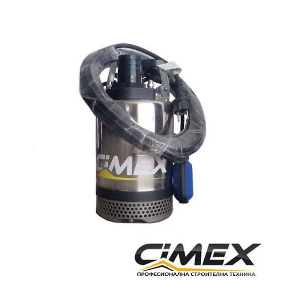 Потопяема водна помпа с поплавък CIMEX SPF2-12.15