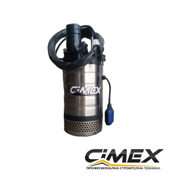 Потопяема водна помпа с поплавък CIMEX SPF3-15.40