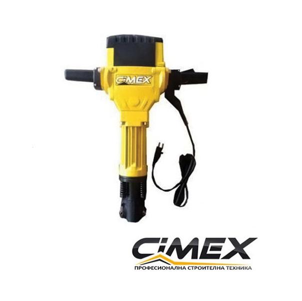 Електрически къртач 27кг, CIMEX B27