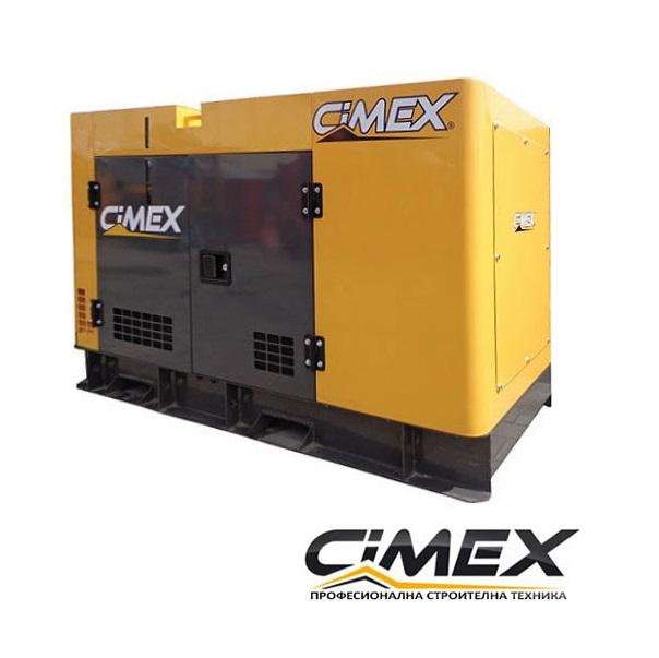 Дизелов генератор 16 kW , обезшумен CIMEX SDG20