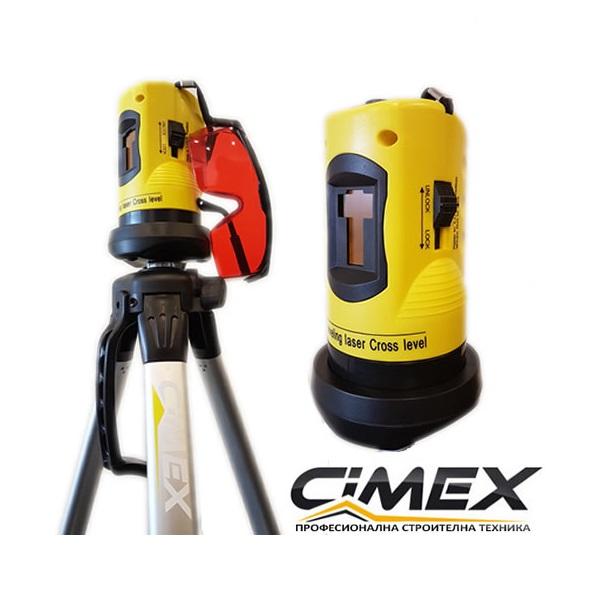 Лазерен нивелир - самонивелиращ се линеен лазер CIMEX