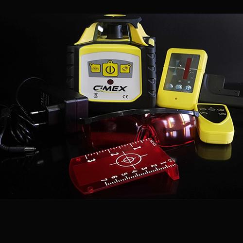 Ротационен лазерен нивелир CIMEX HV500L