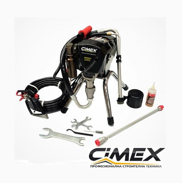 Машина безвъздушно боядисване CIMEX AIRLESS X490