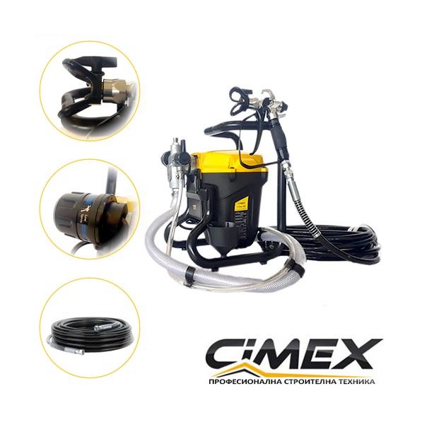 Машина за боядисване CIMEX X5