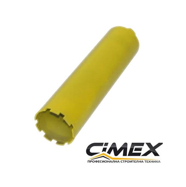 Диамантена боркорона за бетон CIMEX Ф 102 мм.