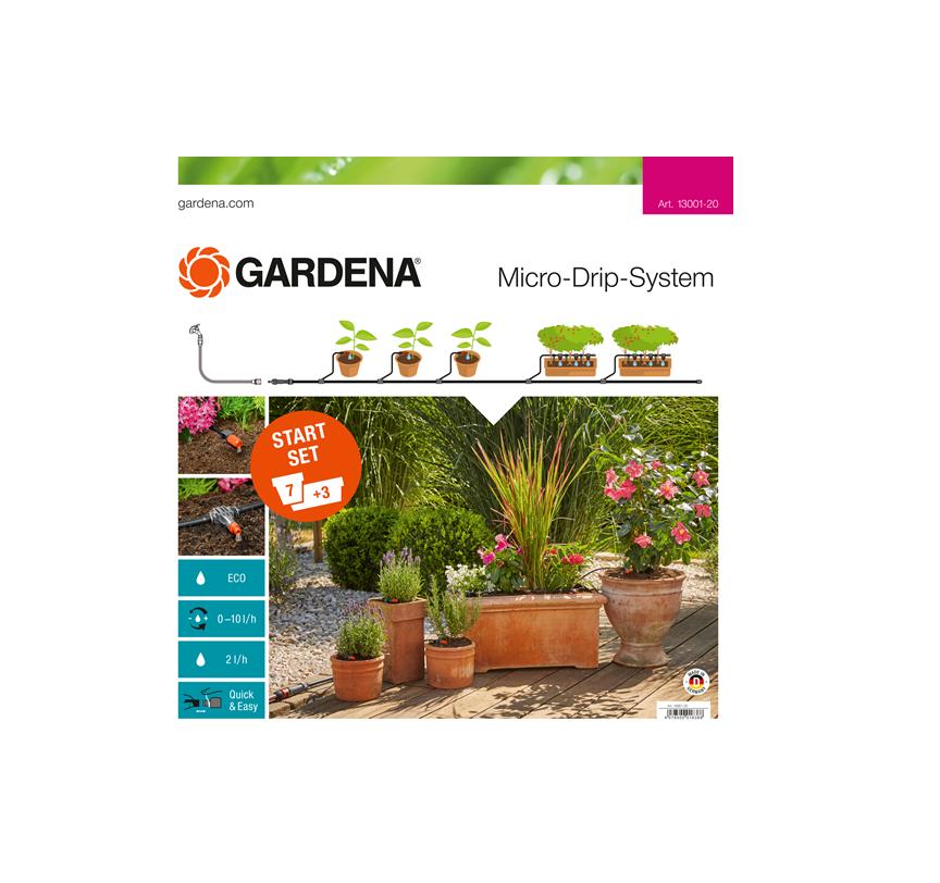 Начален комплект за саксии Gardena М (13001)