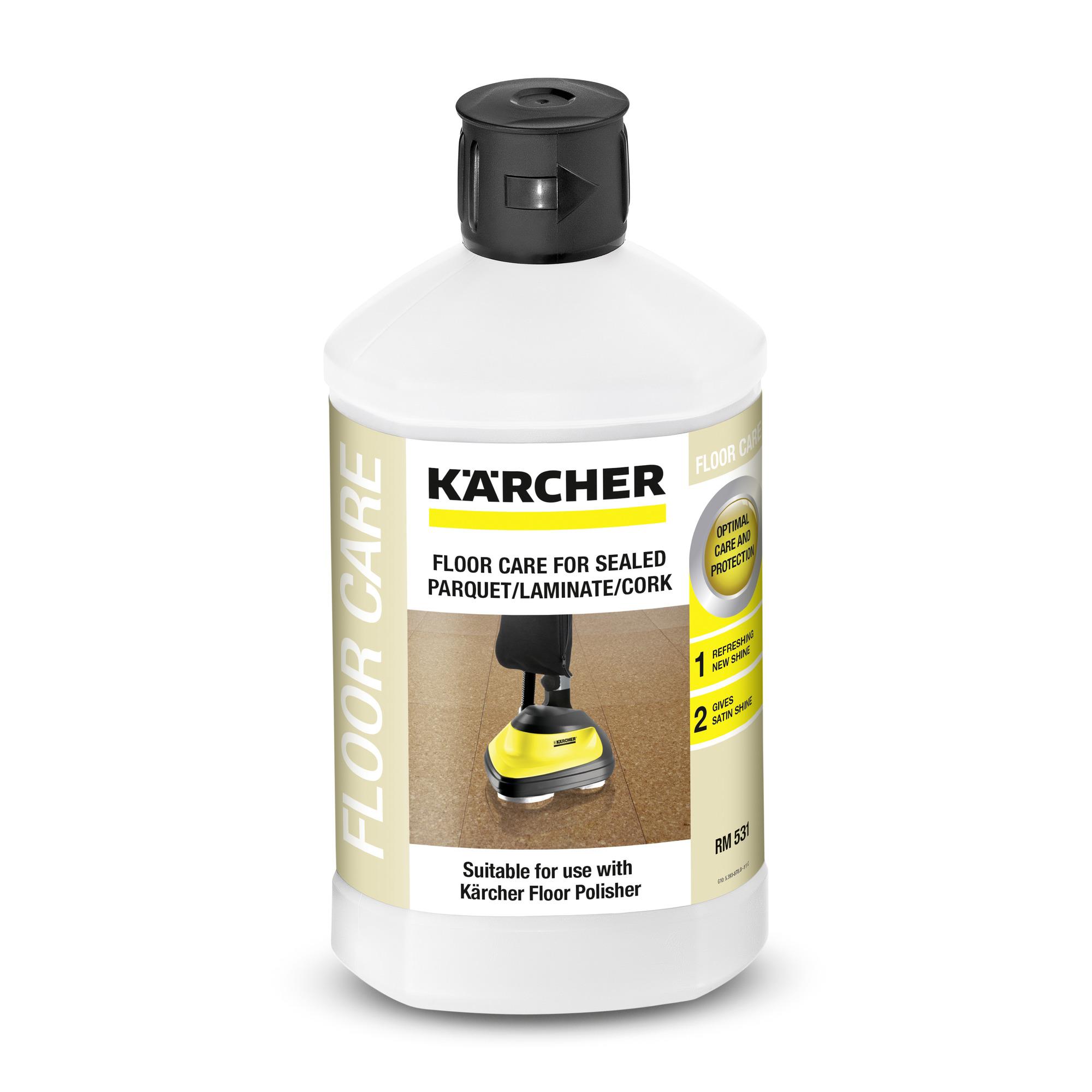 Препарат за запечатан паркет / ламинат / корк RM 531, 1л Karcher