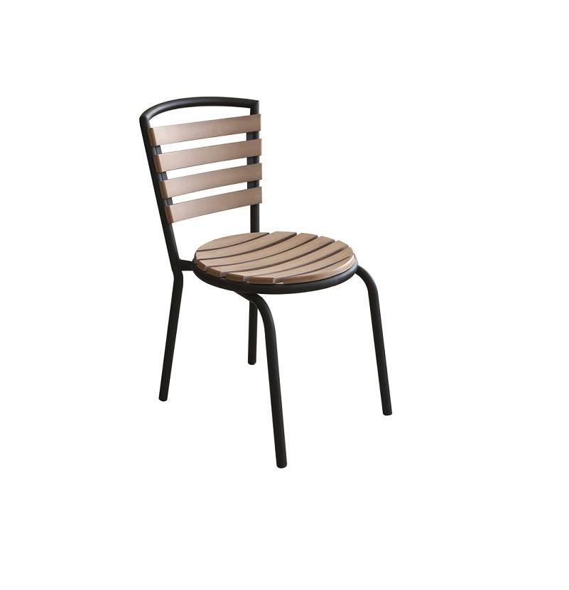 Стол с кръгла седалка POLYWOOD NATURAL