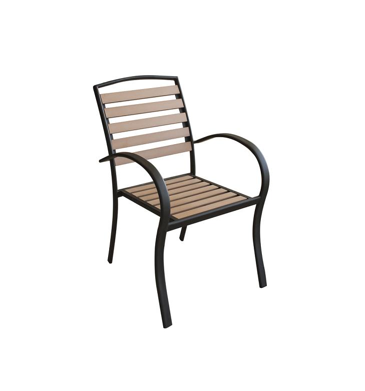 Стол с подлакътник POLYWOOD NATURAL