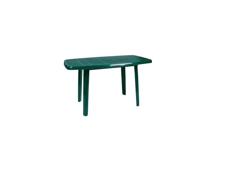 Овална маса Зелена