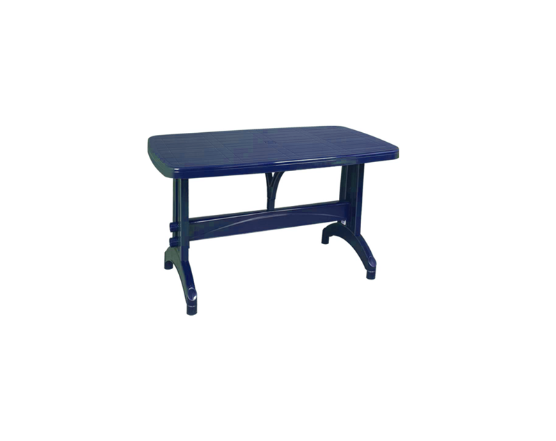 Овална маса Синя