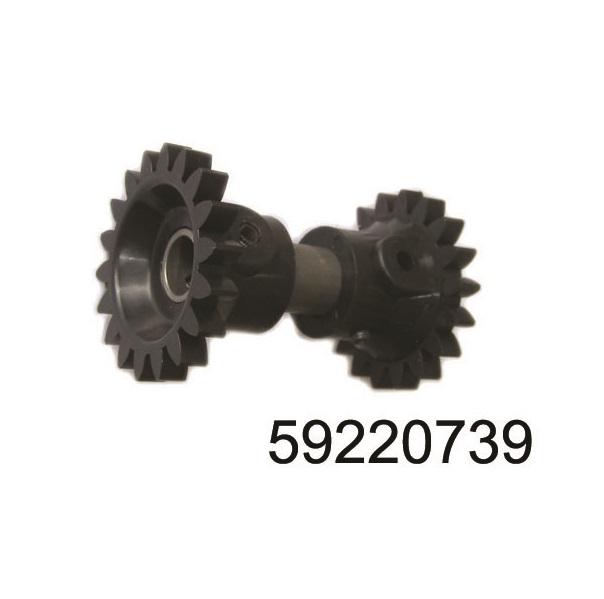 Зъбно колело хидравлика (черно)