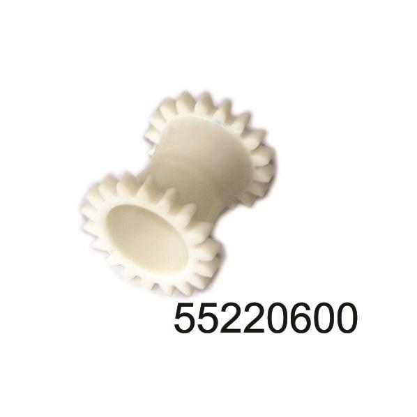 Зъбно колело хидравлика (бяло)