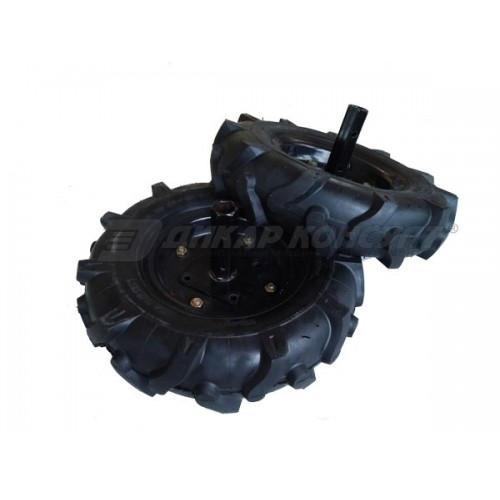 Prisma Комплект гуми с полуоски за мотофреза FORTECO