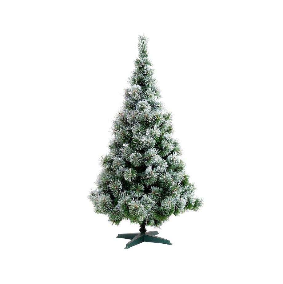 Коледна елха GTrees Жилкова със заскрежени връхчета 120см