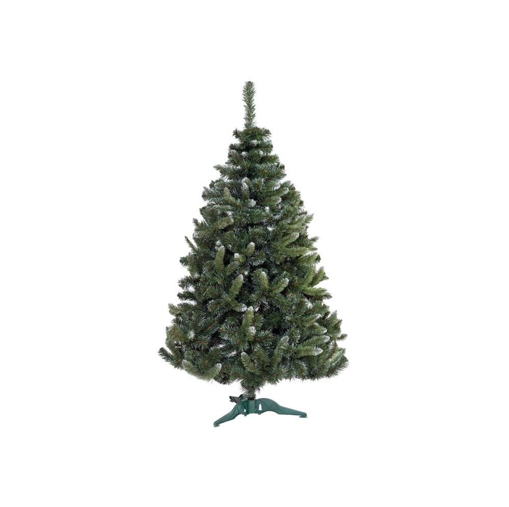 Коледна елха GTrees Класически бор с бял връх 120см