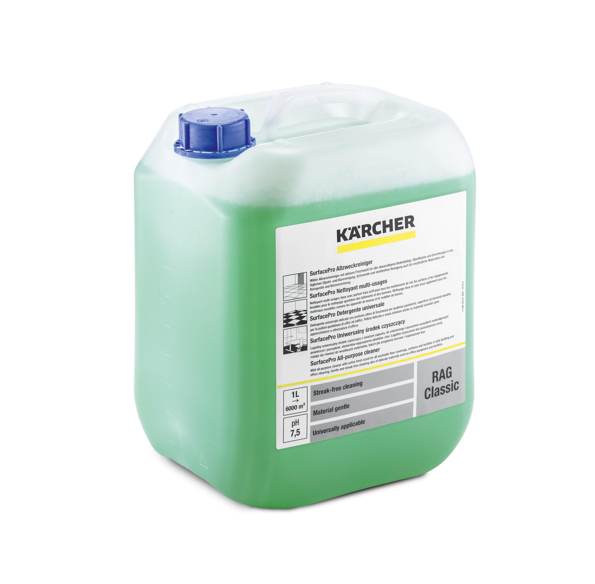 Почистващ многофункционален препарат Karcher RAG Classic 10л.