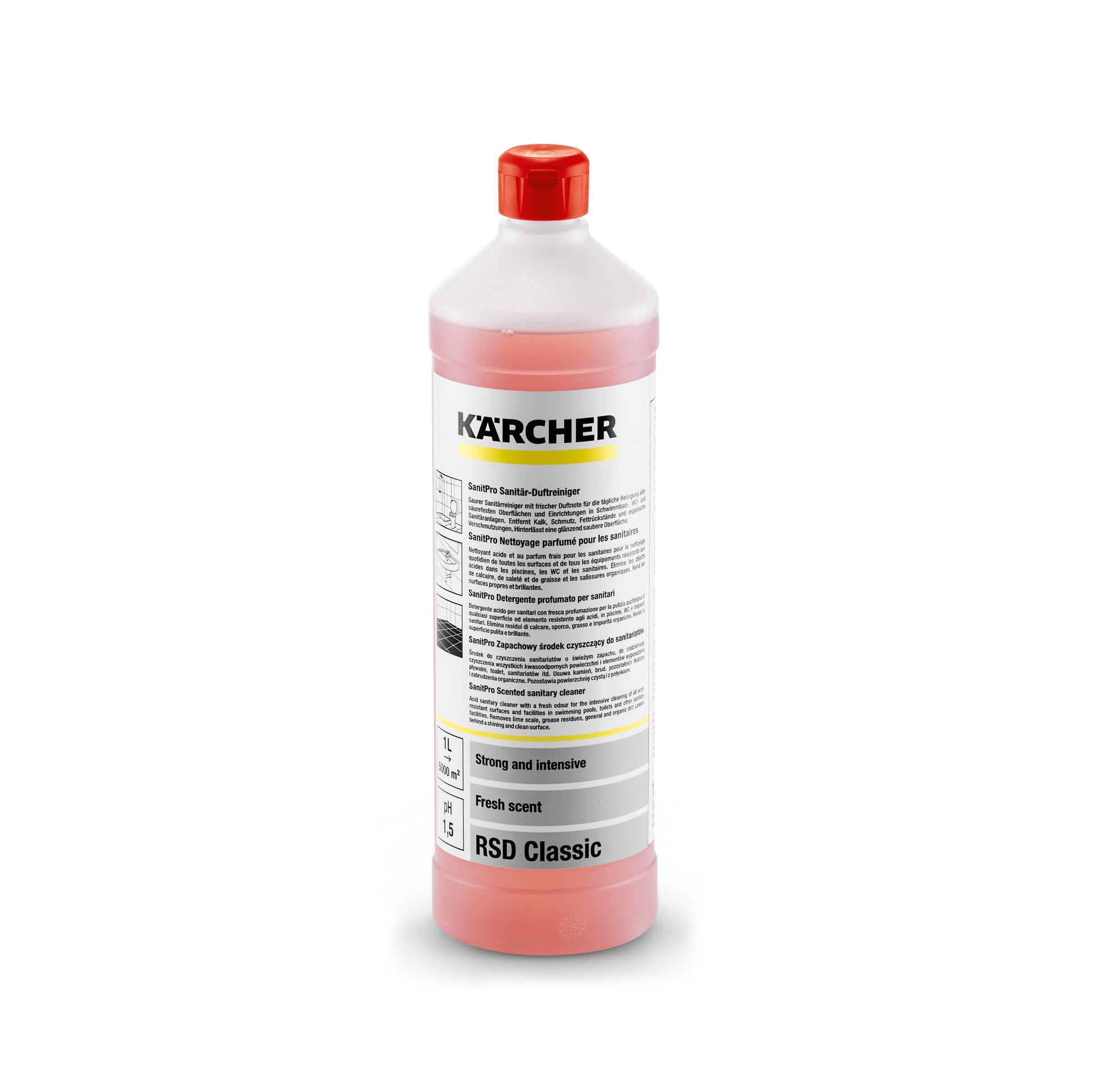 Ароматизирано санитарно почистващо средство Karcher RSD Classic - 1л.