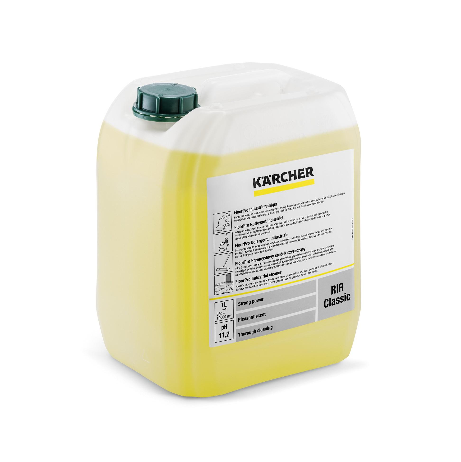 Препарат индустриално почистване Karcher RIR Classic 10л