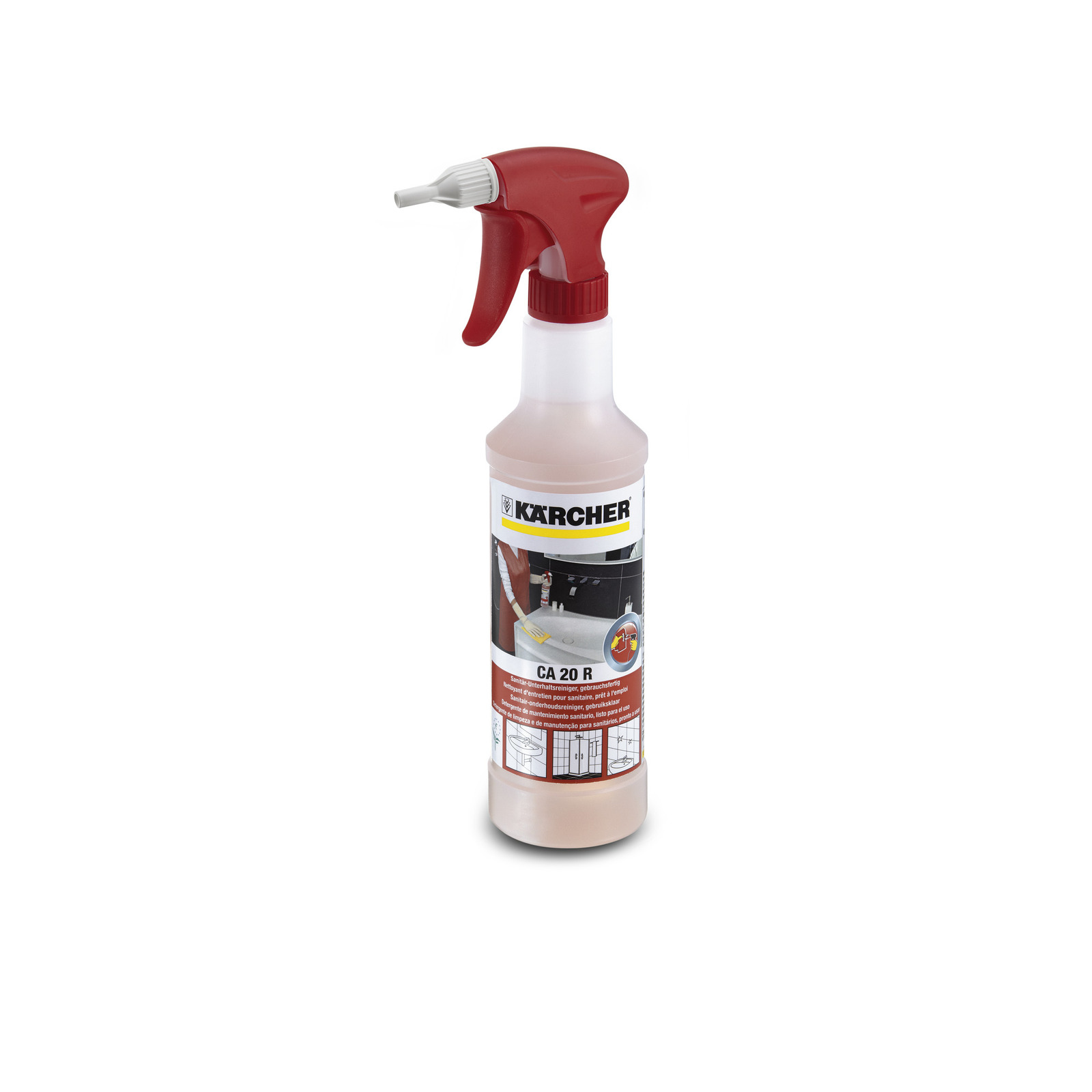 Почистващ препарат за санитарни помещения Karcher CA 20 R - 0.5л