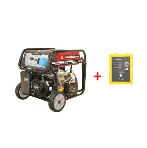 Бензинов генератор SENCI SC-8000-ATS