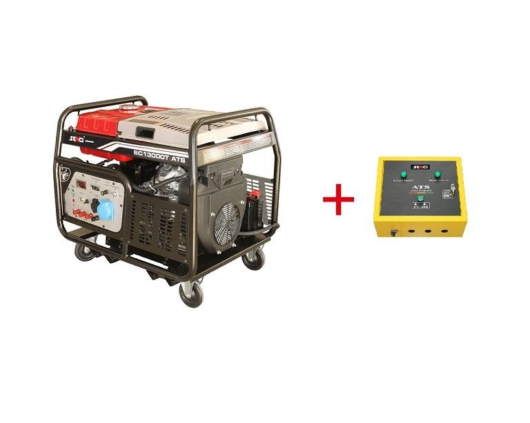 Бензинов генератор SENCI SC-13000T-ATS