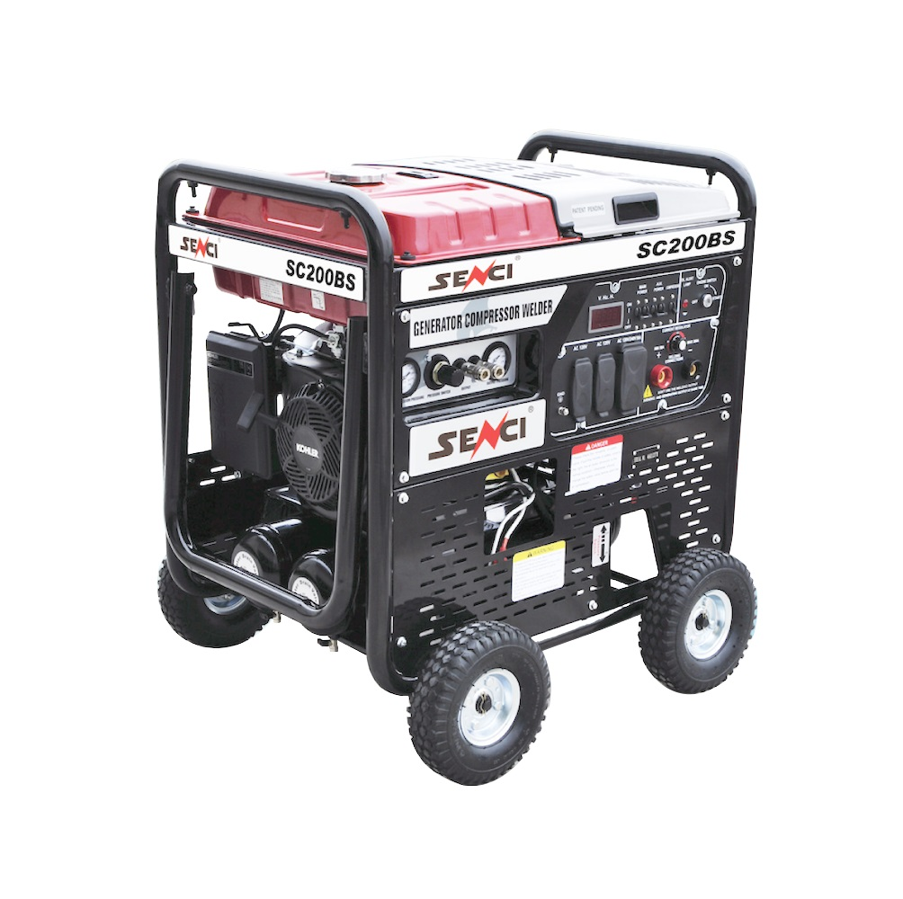 Мултифункционален генератор, заваръчен генератор, компресор SENCI SC-20031