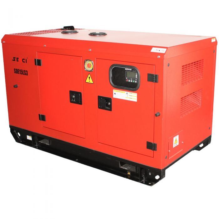 Шумоизолиран дизелов трифазен генератор SENCI SDE15LS3