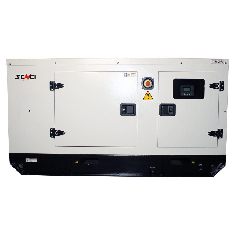 Шумоизолиран дизелов трифазен генератор SENCI SCDE25YS