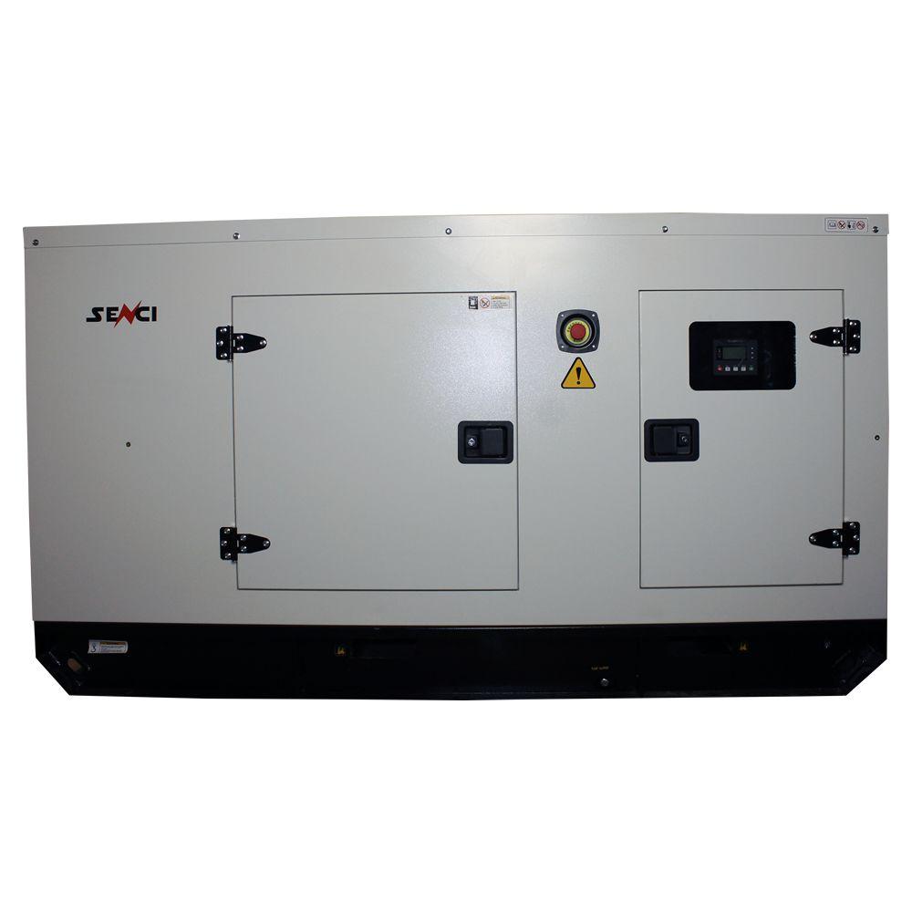 Шумоизолиран дизелов трифазен генератор SENCI SCDE55YS