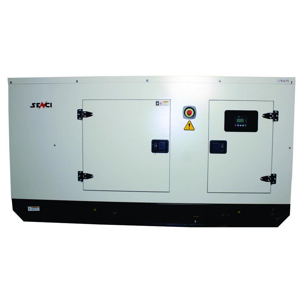 Шумоизолиран дизелов трифазен генератор SENCI SCDE72YS