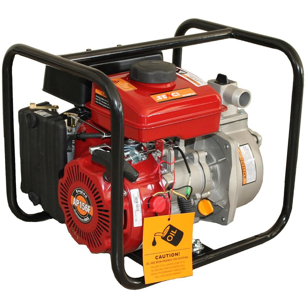 Бензинова водна помпа за чиста вода SENCI SCWP-25