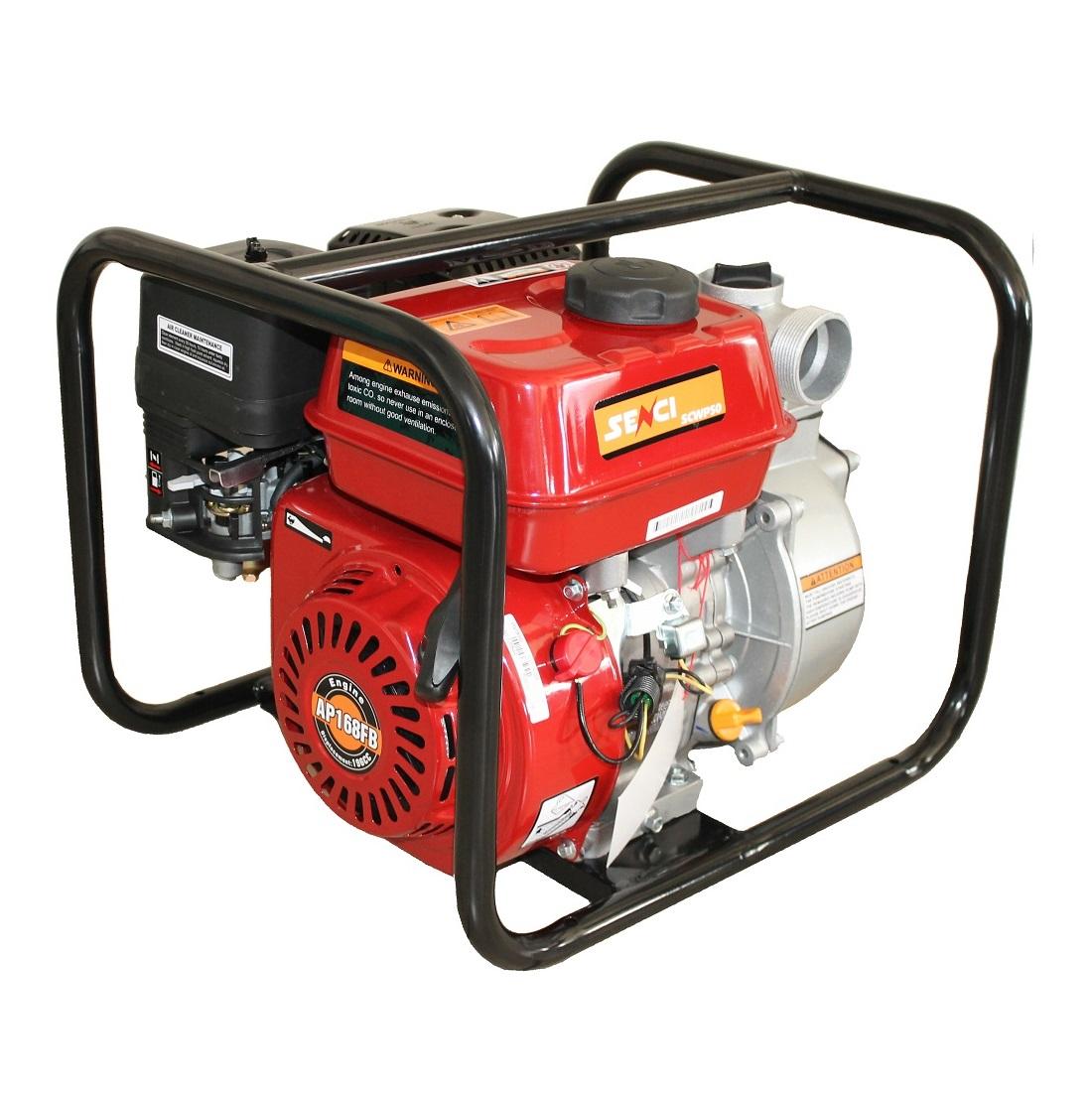 Бензинова водна помпа за чиста вода SENCI SCWP-50