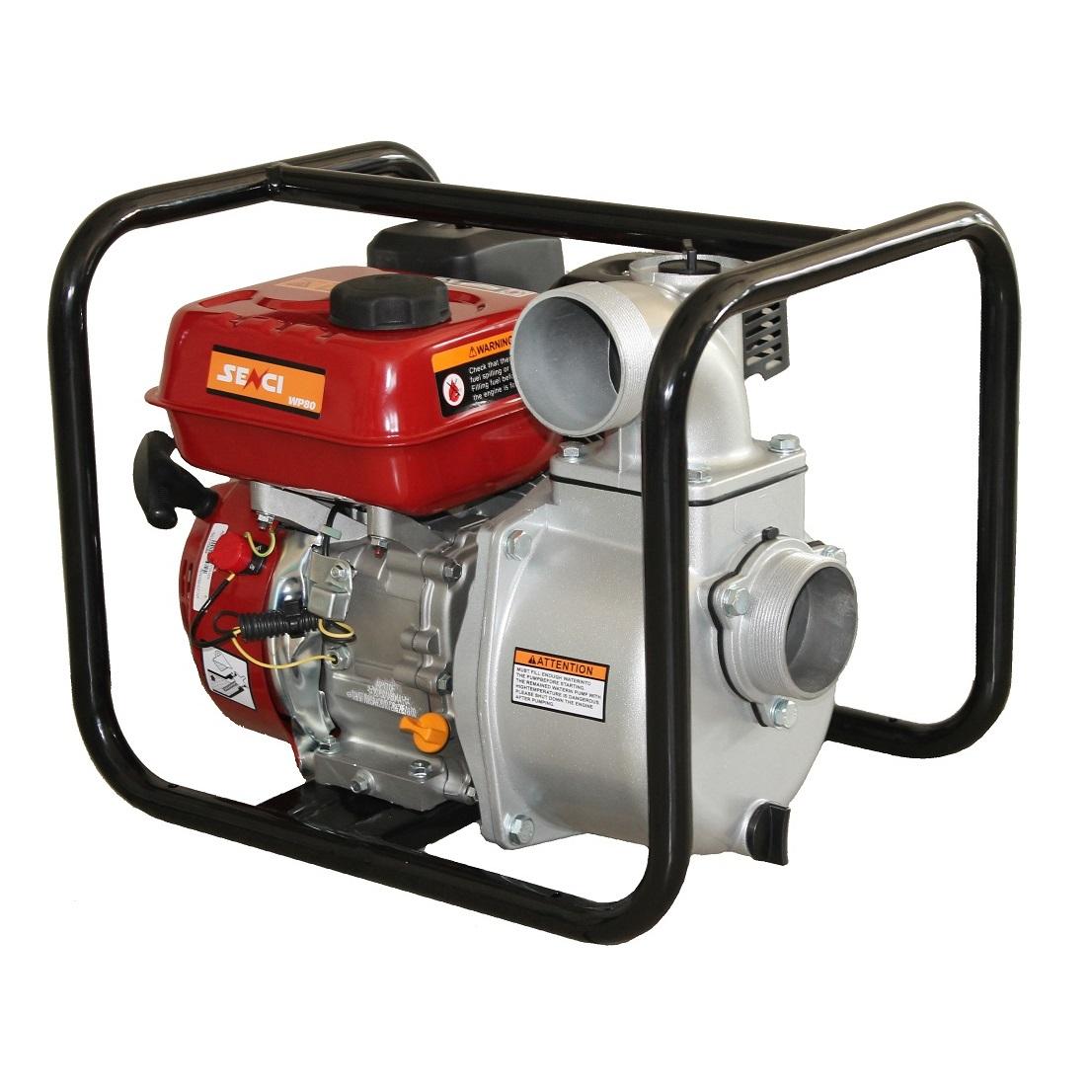 Бензинова водна помпа за чиста вода SENCI SCWP-80