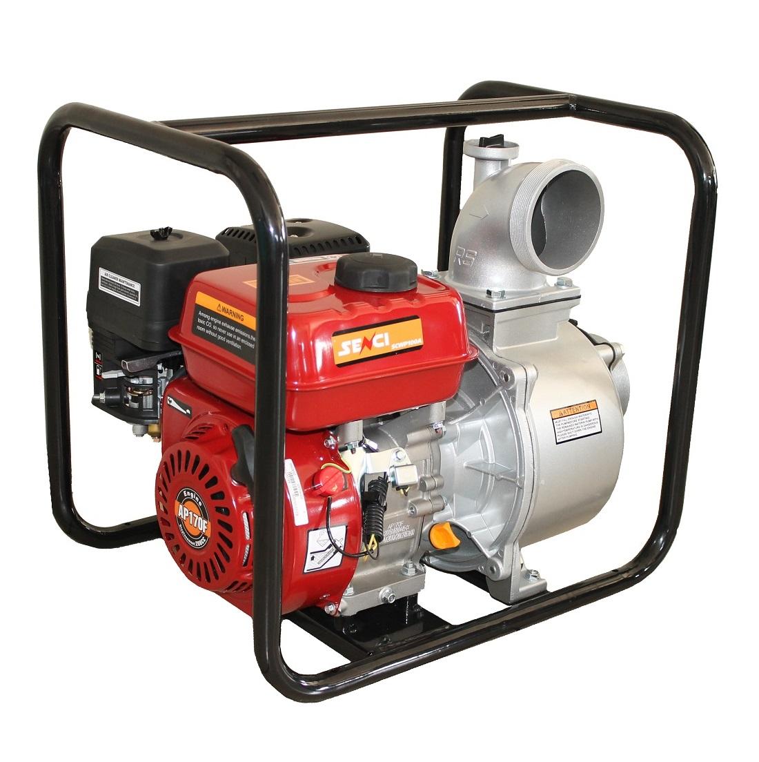 Бензинова водна помпа за чиста вода SENCI SCWP-100A