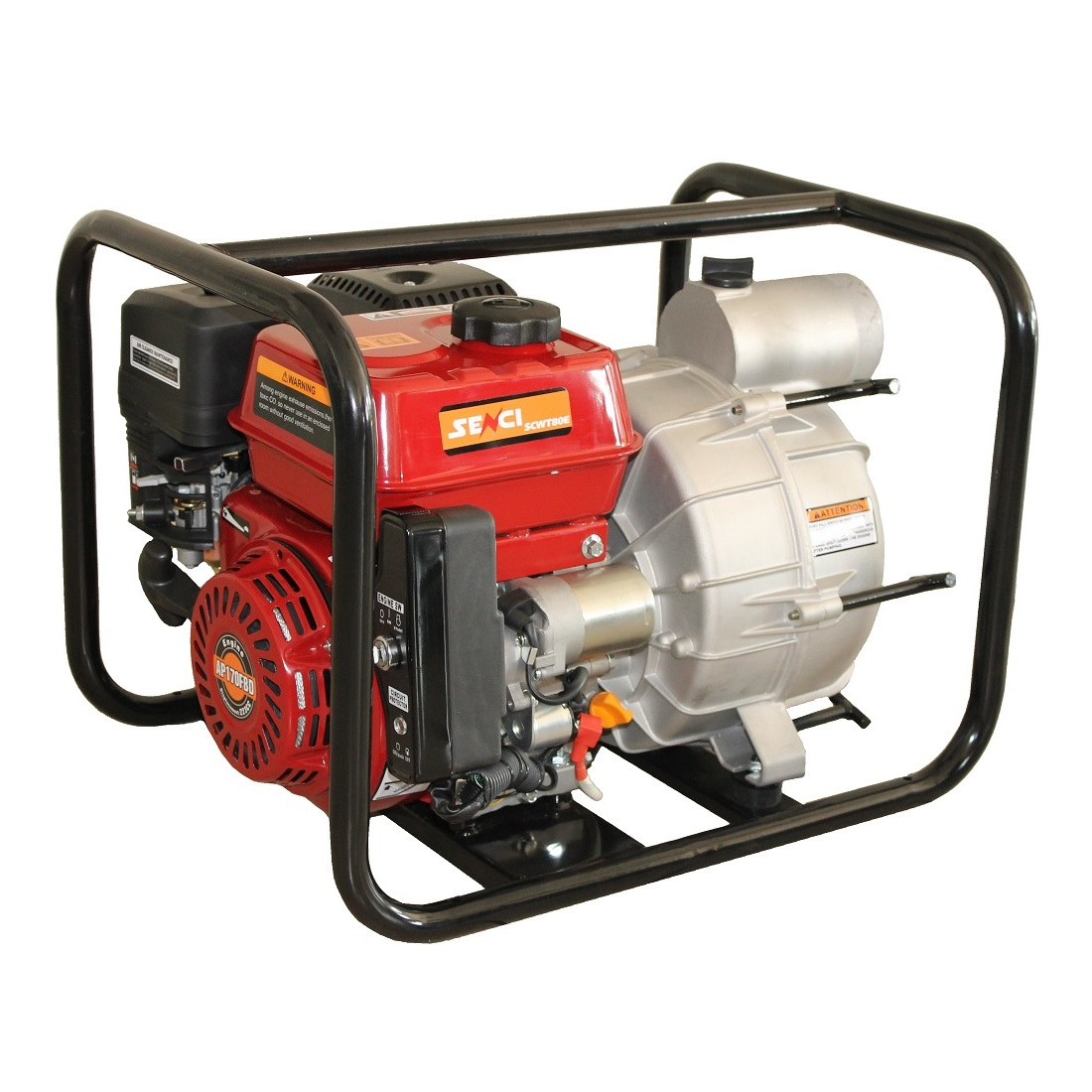 Бензинова водна помпа за мръсна вода SENCI SCWT-80E