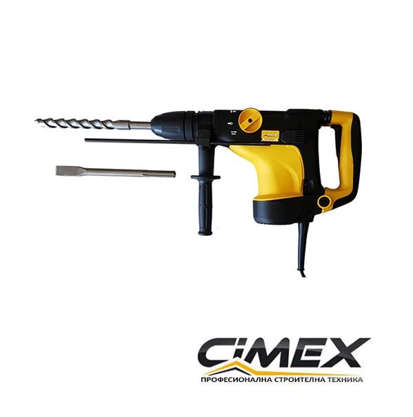 Перфоратор SDS Max Cimex HB7 - Ø40 мм.