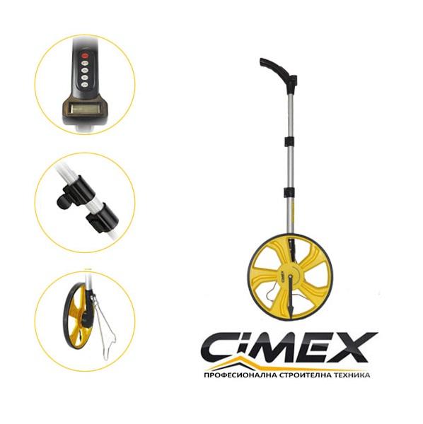 Измервателно колело CIMEX 318 мм. дигитално